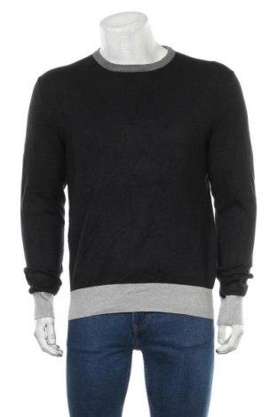 Мъжки пуловер Watson's, Размер L, Цвят Черен, 70% вискоза, 30% полиамид, Цена 28,56лв.