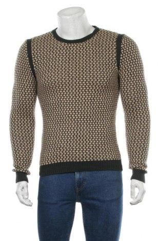 Мъжки пуловер Zara Man, Размер M, Цвят Бежов, Цена 21,70лв.