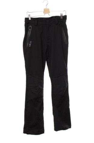 Pantaloni trening de bărbați DLX by Trespass, Mărime XS, Culoare Negru, 100% poliester, Preț 86,58 Lei