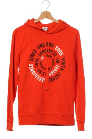 Мъжки суичър Core By Jack & Jones, Размер XS, Цвят Оранжев, 90% памук, 10% полиестер, Цена 9,45лв.