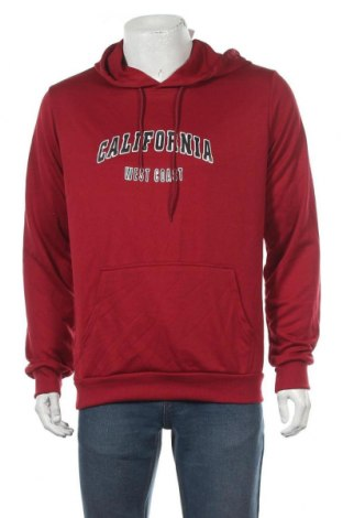 Мъжки суичър SHEIN, Размер M, Цвят Червен, 65% памук, 35% полиестер, Цена 22,68лв.