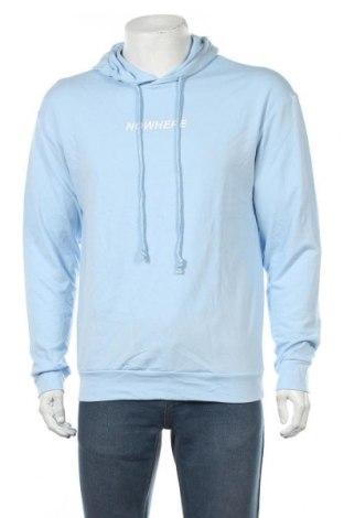 Мъжки суичър SHEIN, Размер M, Цвят Син, 30% памук, 35% полиестер, 5% еластан, Цена 21,00лв.