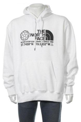Мъжки суичър The North Face, Размер L, Цвят Бял, 50% памук, 50% полиестер, Цена 70,85лв.
