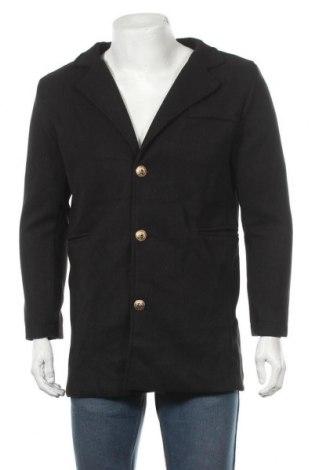 Мъжко палто, Размер M, Цвят Черен, Цена 70,51лв.