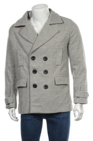 Мъжко палто, Размер S, Цвят Сив, Цена 15,49лв.
