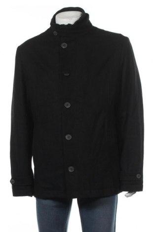 Мъжко палто Canda, Размер XL, Цвят Черен, 62% вълна, 30% полиестер, 8% други нишки, Цена 71,82лв.