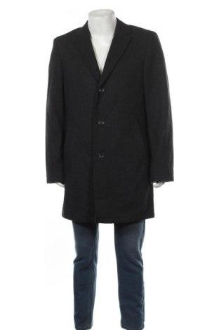 Мъжко палто Esprit, Размер L, Цвят Сив, 60% вълна, 40% вискоза, Цена 69,62лв.