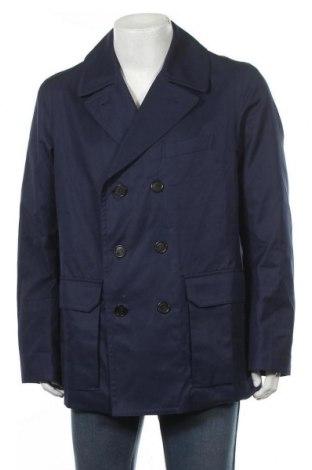 Ανδρικά παλτό Hackett, Μέγεθος M, Χρώμα Μπλέ, 100% βαμβάκι, Τιμή 96,25€