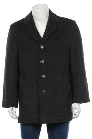 Мъжко палто Jbc, Размер L, Цвят Сив, Цена 61,58лв.