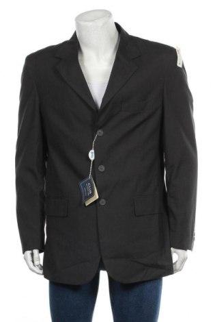 Мъжко сако, Размер XL, Цвят Сив, 50% вискоза, 50% полиестер, Цена 14,49лв.
