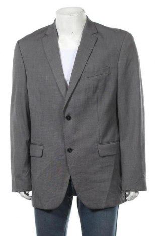 Мъжко сако Angelo Litrico, Размер XL, Цвят Сив, 77% полиестер, 23% вискоза, Цена 10,24лв.