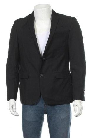 Мъжко сако Angelo Litrico, Размер S, Цвят Черен, 65% полиестер, 35% вискоза, Цена 6,83лв.