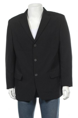 Мъжко сако Angelo Litrico, Размер XL, Цвят Черен, 96% полиестер, 4% еластан, Цена 8,14лв.