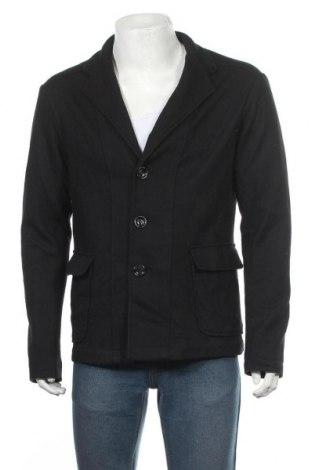 Мъжко сако Armani Jeans, Размер XXL, Цвят Черен, 75% вълна, 25% полиестер, Цена 47,88лв.