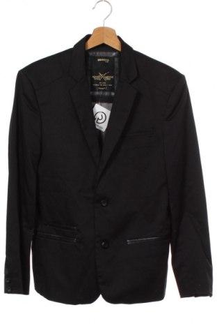 Мъжко сако Bonobo, Размер M, Цвят Черен, 65% полиестер, 35% памук, Цена 6,30лв.