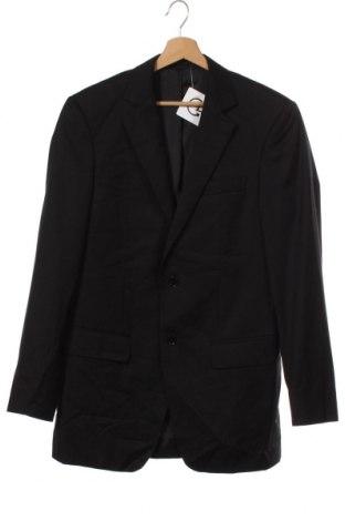 Мъжко сако Carven, Размер M, Цвят Черен, Вълна, Цена 24,00лв.