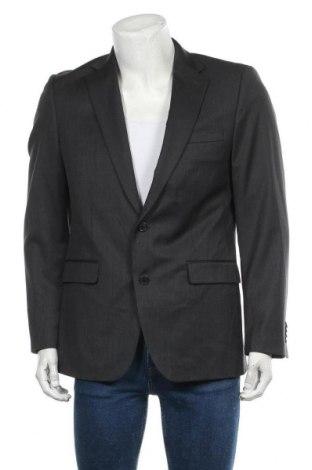 Мъжко сако Class International, Размер L, Цвят Сив, Вълна, Цена 8,47лв.
