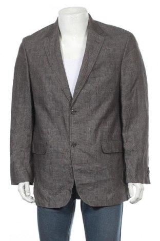 Мъжко сако Digel, Размер L, Цвят Сив, Лен, Цена 8,40лв.