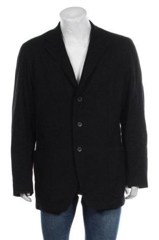 Мъжко сако Ermenegildo Zegna, Размер XL, Цвят Черен, 90% вълна, 10% кашмир, Цена 86,90лв.