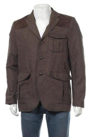 Мъжко сако H&M, Размер L, Цвят Кафяв, Цена 8,40лв.