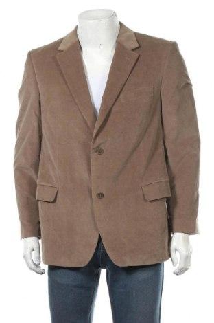 Мъжко сако Linus, Размер XL, Цвят Кафяв, 97% памук, 3% еластан, Цена 6,83лв.