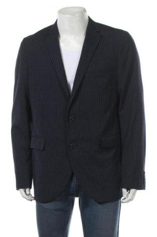 Мъжко сако Matinique, Размер XL, Цвят Син, 50% вълна, 48% полиестер, 2% еластан, Цена 11,55лв.