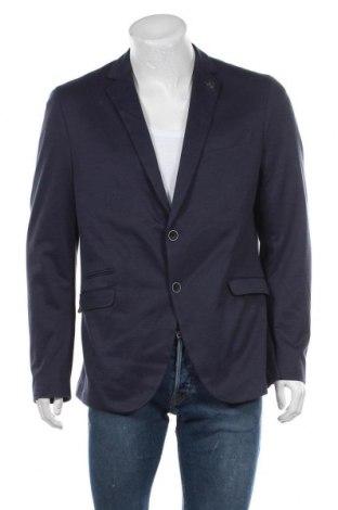 Мъжко сако Paul Hunter, Размер XL, Цвят Син, 60% полиестер, 40% памук, Цена 27,69лв.