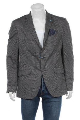Мъжко сако Pierre Cardin, Размер XL, Цвят Сив, 44% вискоза, 40% полиестер, 16% памук, Цена 57,25лв.