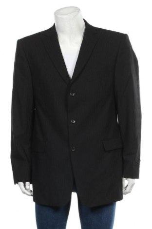 Мъжко сако Strellson, Размер XL, Цвят Черен, Вълна, Цена 20,48лв.