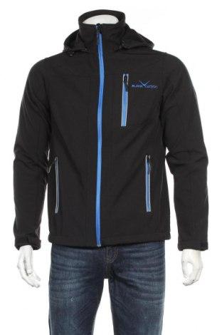 Pánská sportovní bunda , Velikost S, Barva Černá, 95% polyester, 5% elastan, Cena  574,00Kč