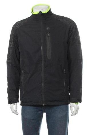 Мъжко спортно яке Active By Tchibo, Размер M, Цвят Черен, Полиестер, Цена 29,30лв.