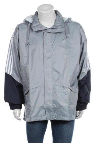 Мъжко спортно яке Adidas, Размер XL, Цвят Син, Полиамид, Цена 37,33лв.