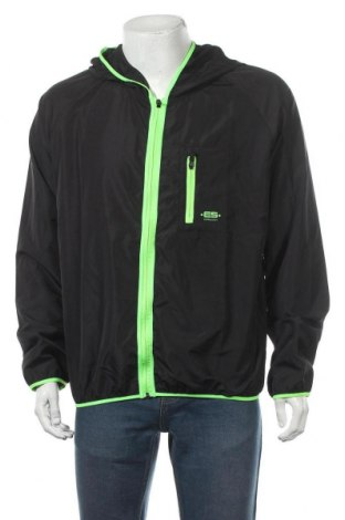 Мъжко спортно яке ES Collection, Размер XL, Цвят Черен, 100% полиестер, Цена 112,05лв.