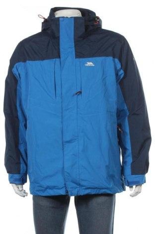 Мъжко спортно яке Trespass, Размер L, Цвят Син, Полиестер, Цена 112,77лв.