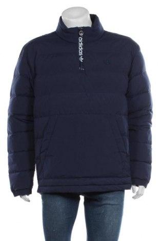 Geacă de bărbati Adidas Originals, Mărime L, Culoare Albastru, Textil, puf și pene, Preț 423,36 Lei