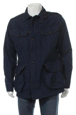 Pánská bunda  Polo By Ralph Lauren, Velikost M, Barva Modrá, Bavlna, Cena  1196,00Kč