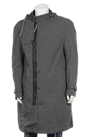 Мъжко яке Zara, Размер M, Цвят Сив, 71% полиестер, 27% вискоза, 2% еластан, Цена 32,80лв.