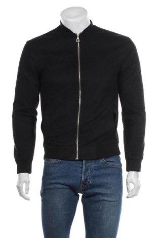 Pánská bunda  Zara Man, Velikost S, Barva Černá, 86% polyester, 14% elastan, Cena  276,00Kč