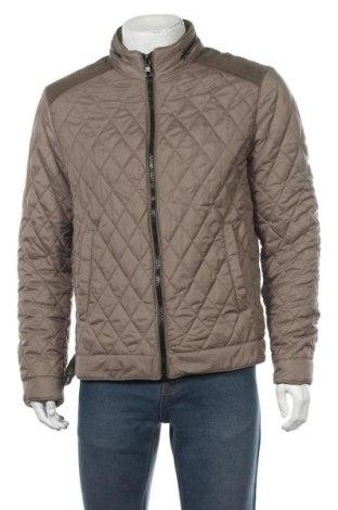 Мъжко яке Zara Man, Размер L, Цвят Зелен, Полиестер, Цена 54,86лв.