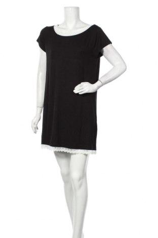 Пижама Etam, Размер L, Цвят Черен, 95% вискоза, 5% еластан, Цена 51,75лв.
