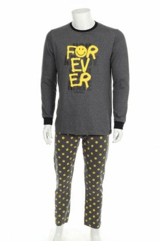 Πιτζάμες Smiley World, Μέγεθος M, Χρώμα Πολύχρωμο, Βαμβάκι, πολυεστέρας, Τιμή 22,81€