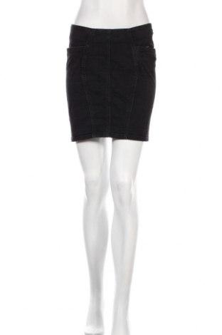 Пола Acne, Размер S, Цвят Черен, 98% памук, 2% еластан, Цена 45,92лв.