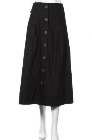 Пола Christian Berg, Размер XL, Цвят Черен, 55% лен, 45% памук, Цена 15,84лв.