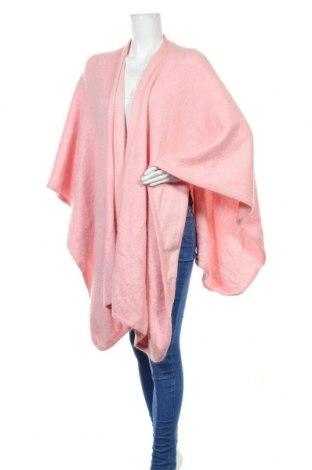 Пончо ESCADA BY MARGARETHA LEY, Размер S, Цвят Розов, 38% мохер, 38% полиамид, 24% вълна, Цена 175,44лв.