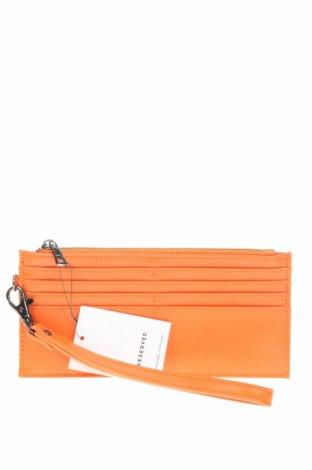 Peněženka Reserved, Barva Oranžová, Eko kůže, Cena  315,00Kč