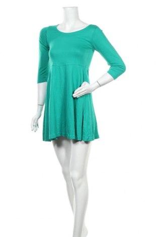 Рокля Atmosphere, Размер M, Цвят Зелен, 50% памук, 50% вискоза, Цена 39,69лв.