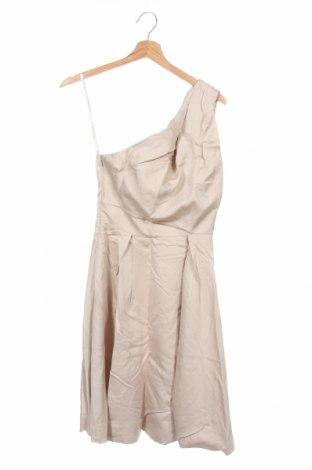 Рокля Karen Millen, Размер S, Цвят Бежов, 51% памук, 49% купро, Цена 28,12лв.