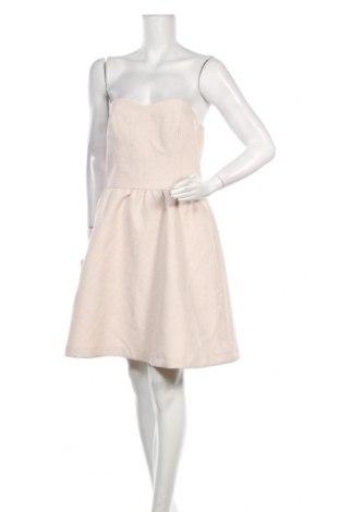 Šaty  Naf Naf, Velikost M, Barva Růžová, 86% polyester, 12% kovové nitě, 2% elastan, Cena  521,00Kč