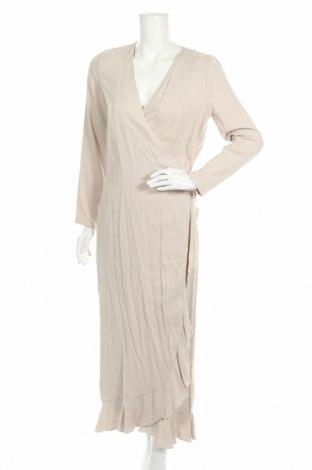 Φόρεμα Samsoe & Samsoe, Μέγεθος S, Χρώμα  Μπέζ, 53% βισκόζη, 47% χαλκαμμωνία, Τιμή 26,91€