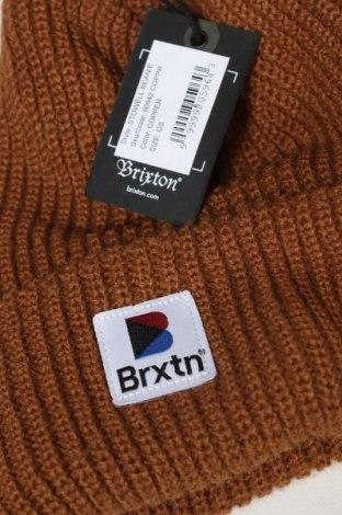 Čepice  Brixton, Barva Hnědá, Akryl , Cena  424,00Kč